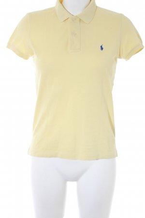 Ralph Lauren Polo-Shirt hellgelb Casual-Look