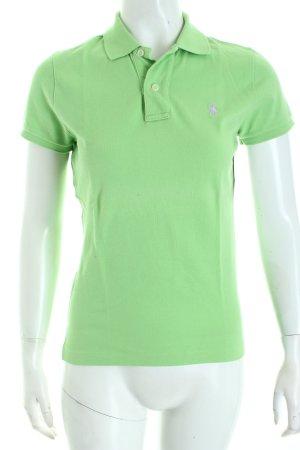 Ralph Lauren Polo-Shirt hellgrün Casual-Look
