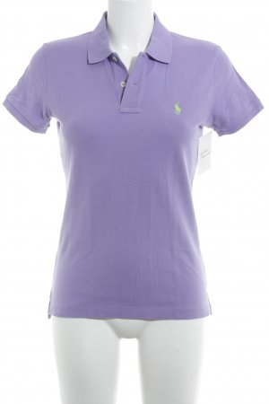 Ralph Lauren Polo-Shirt helllila klassischer Stil