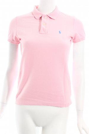 Ralph Lauren Polo-Shirt hellrosa Casual-Look