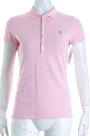 Ralph Lauren Polo-Shirt hellrosa sportlicher Stil