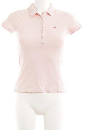 Ralph Lauren Polo-Shirt hellrosa Webmuster Casual-Look