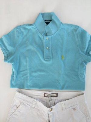 Ralph Lauren Polo Shirt in Piqué Optik slim fit M wie 36