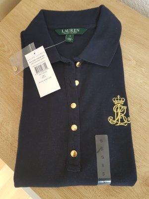 Ralph Lauren Polo Shirt Jenna navy blau Gold NEU Größe S 36