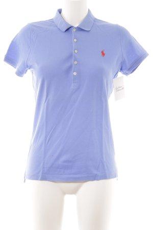 Ralph Lauren Polo shirt korenblauw-donker oranje casual uitstraling