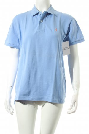 Ralph Lauren Polo-Shirt kornblumenblau klassischer Stil