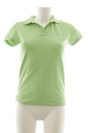 Ralph Lauren Polo-Shirt limettengelb sportlicher Stil