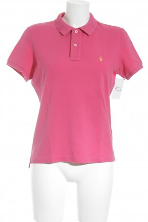Ralph Lauren Polo-Shirt magenta Business-Look
