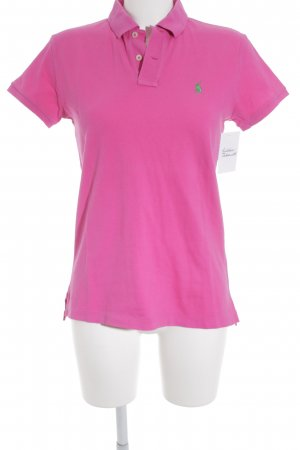 Ralph Lauren Polo-Shirt magenta Casual-Look