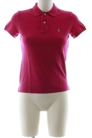 Ralph Lauren Polo-Shirt magenta Casual-Look