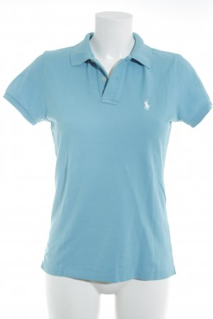 Ralph Lauren Polo-Shirt neonblau Casual-Look