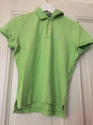 Ralph Lauren Polo Shirt neongrün