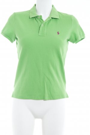 Ralph Lauren Polo-Shirt neongrün Casual-Look