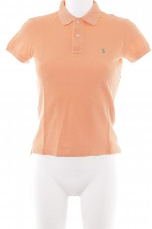 Ralph Lauren Polo-Shirt orange-grün Casual-Look