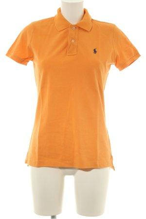 Ralph Lauren Polo-Shirt orange-hellorange schlichter Stil