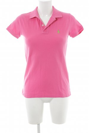 Ralph Lauren Polo-Shirt pink Country-Look
