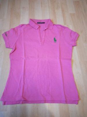 Ralph Lauren Sport Polo rosa-verde