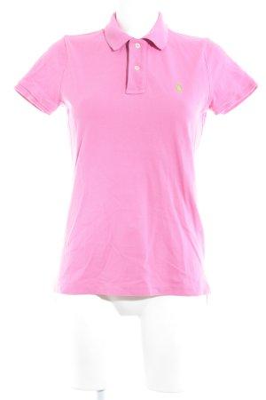 Ralph Lauren Polo-Shirt pink klassischer Stil
