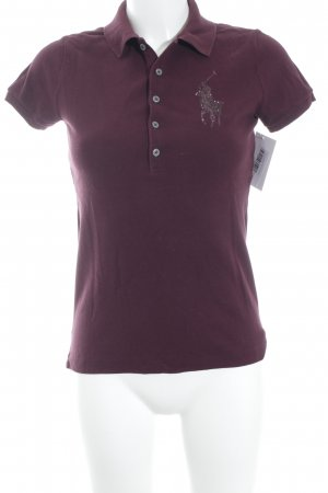 Ralph Lauren Polo-Shirt purpur sportlicher Stil