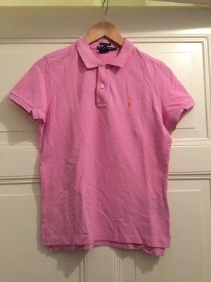 Ralph Lauren Polo Shirt rosa Gr. L