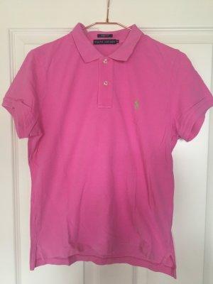 Ralph Lauren Polo-Shirt rosa Slim-Fit