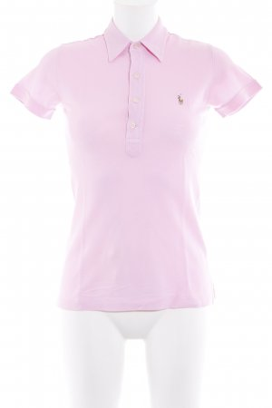 Ralph Lauren Polo Shirt pink athletic style