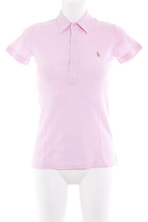 Ralph Lauren Polo-Shirt rosa sportlicher Stil
