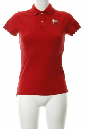 Ralph Lauren Polo shirt rood casual uitstraling
