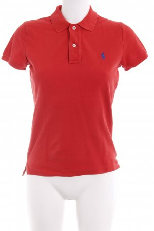 Ralph Lauren Polo-Shirt rot Casual-Look