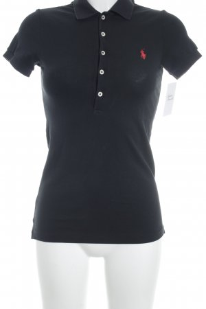 Ralph Lauren Polo-Shirt schwarz Casual-Look