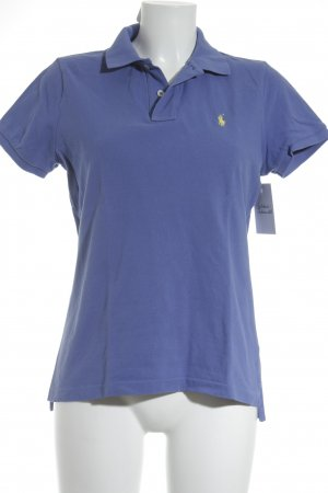 Ralph Lauren Polo-Shirt stahlblau Casual-Look