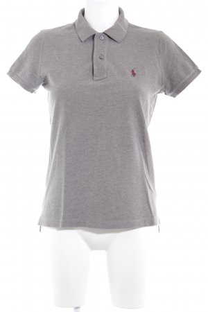"Ralph Lauren Polo-Shirt ""The Skinny Polo"" grau"