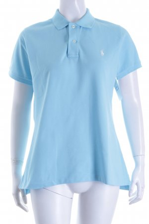 "Ralph Lauren Polo-Shirt ""The Skinny Polo"" hellblau"