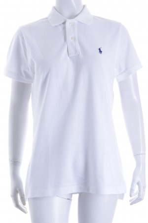 "Ralph Lauren Polo-Shirt ""The Skinny Polo"" weiß"