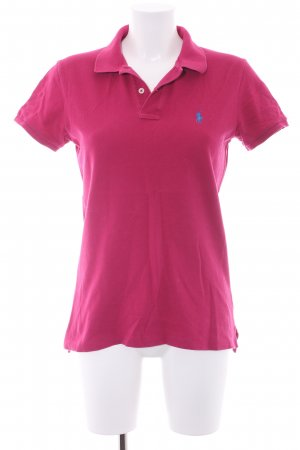 Ralph Lauren Polo-Shirt violett Casual-Look