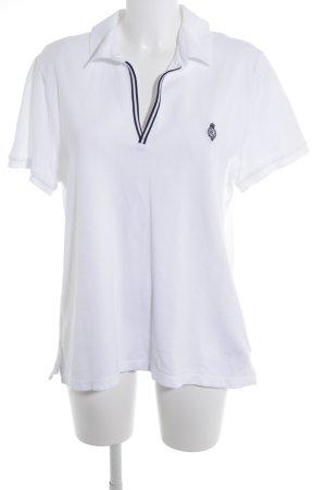 Ralph Lauren Polo-Shirt weiß klassischer Stil