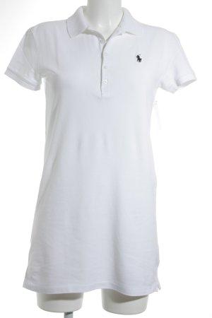 Ralph Lauren Polo-Shirt weiß sportlicher Stil
