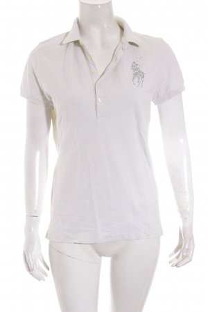 Ralph Lauren Polo-Shirt wollweiß Casual-Look