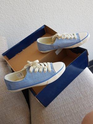 Ralph Lauren Polo Sneaker Schuhe blau hellblau weiss Gr. 35.5 / 36 Neu