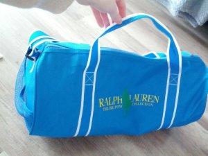 Ralph Lauren Borsa sport blu-giallo