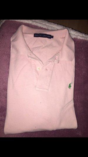 ❤️ Ralph Lauren Polo tshirt in rosa mit Logo Blogger ❤️