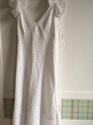 Ralph Lauren Polo Voile Kleid weiß