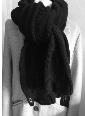Polo Ralph Lauren Wollen sjaal zwart Wol