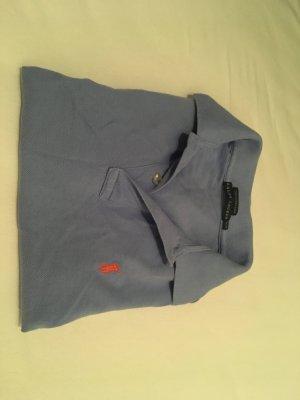 "Ralph Lauren Polohemd ""The Skinny Polo' blau, Größe M"