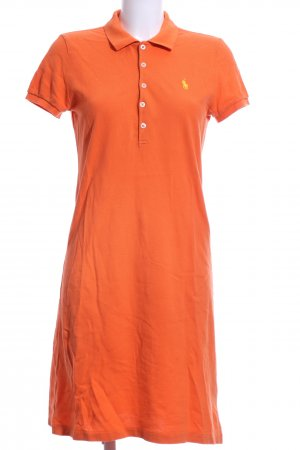 Ralph Lauren Polo Dress light orange casual look