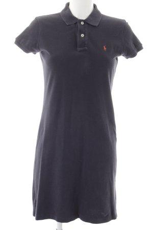 Ralph Lauren Vestido tipo polo azul oscuro look casual