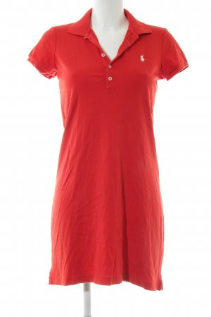 Ralph Lauren Robe Polo rouge style simple