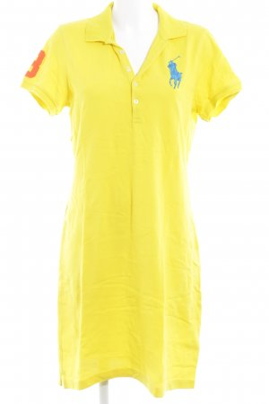 Ralph Lauren Polo Dress yellow extravagant style