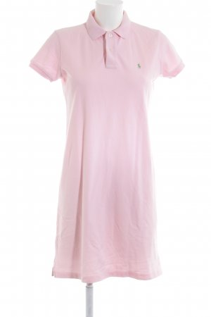 Ralph Lauren Polo Dress pink-green casual look