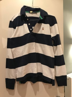 Ralph Lauren Sport Long Shirt white-dark blue